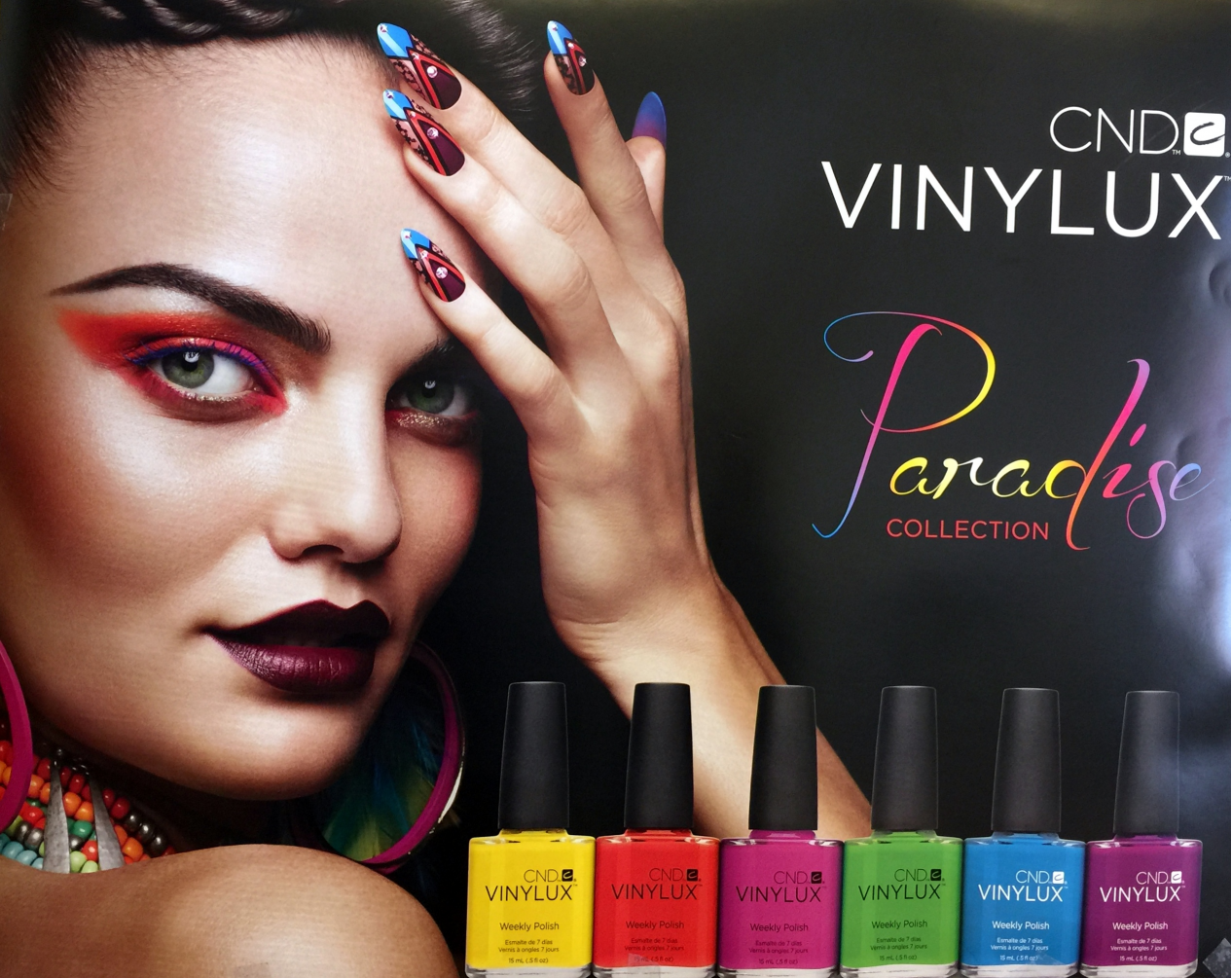 Poster Two Sided CND VINYLUX
