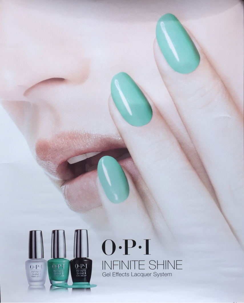 Poster One Side OPI Infinite