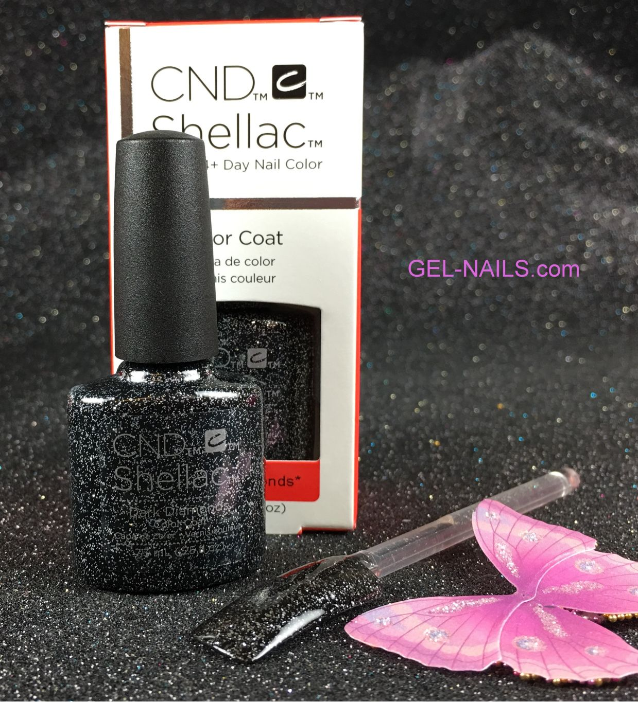 CND Shellac Dark Diamonds 91258 Gel Color Coat l Gel-nails.com