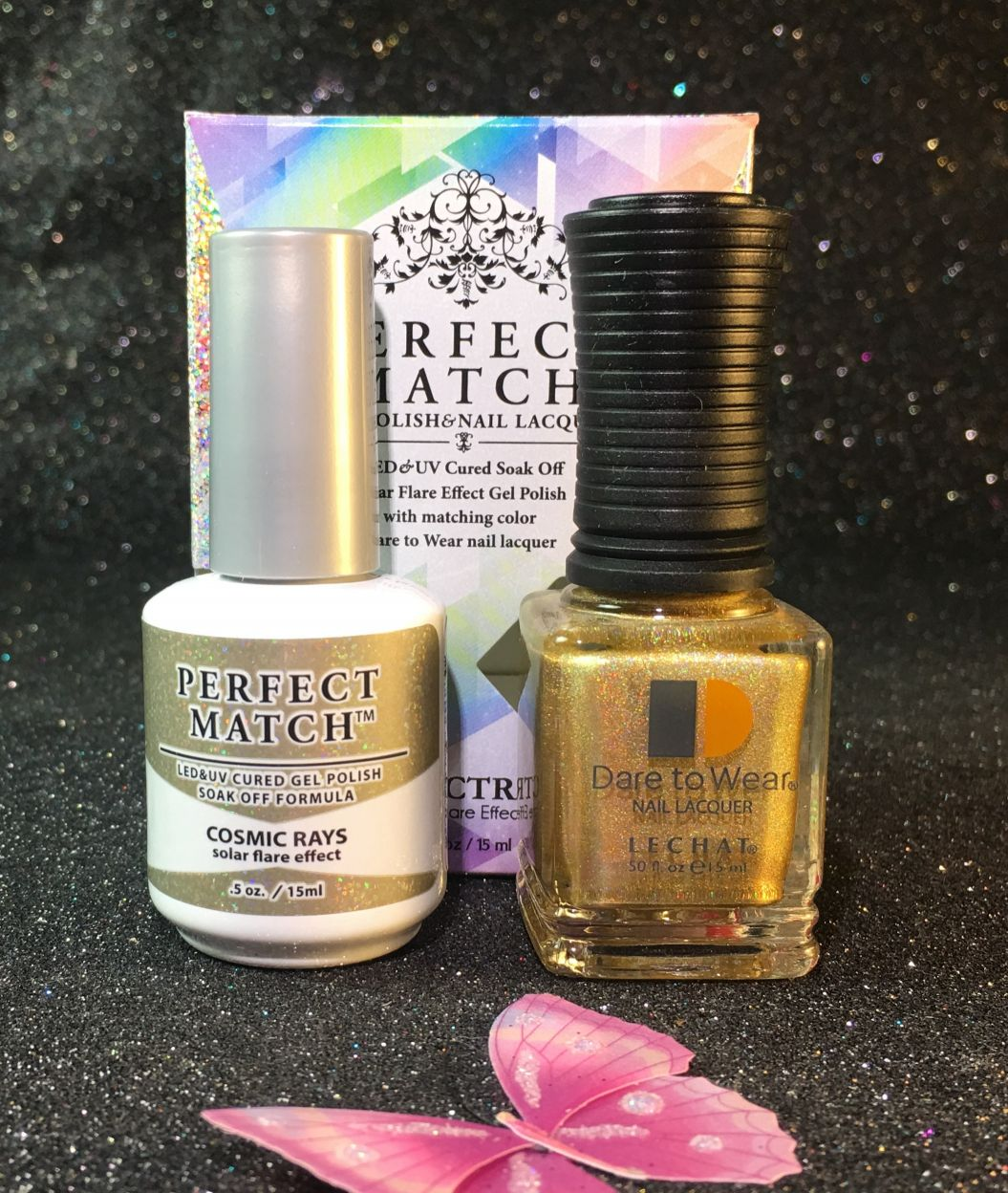 Lechat Cosmic Rays Spectra Collection Perfect Match Gel