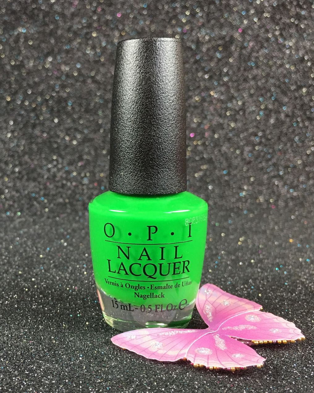 OPI Nail Lacquer Green Come True NL BC4 Tru Neon Collection Summer ...