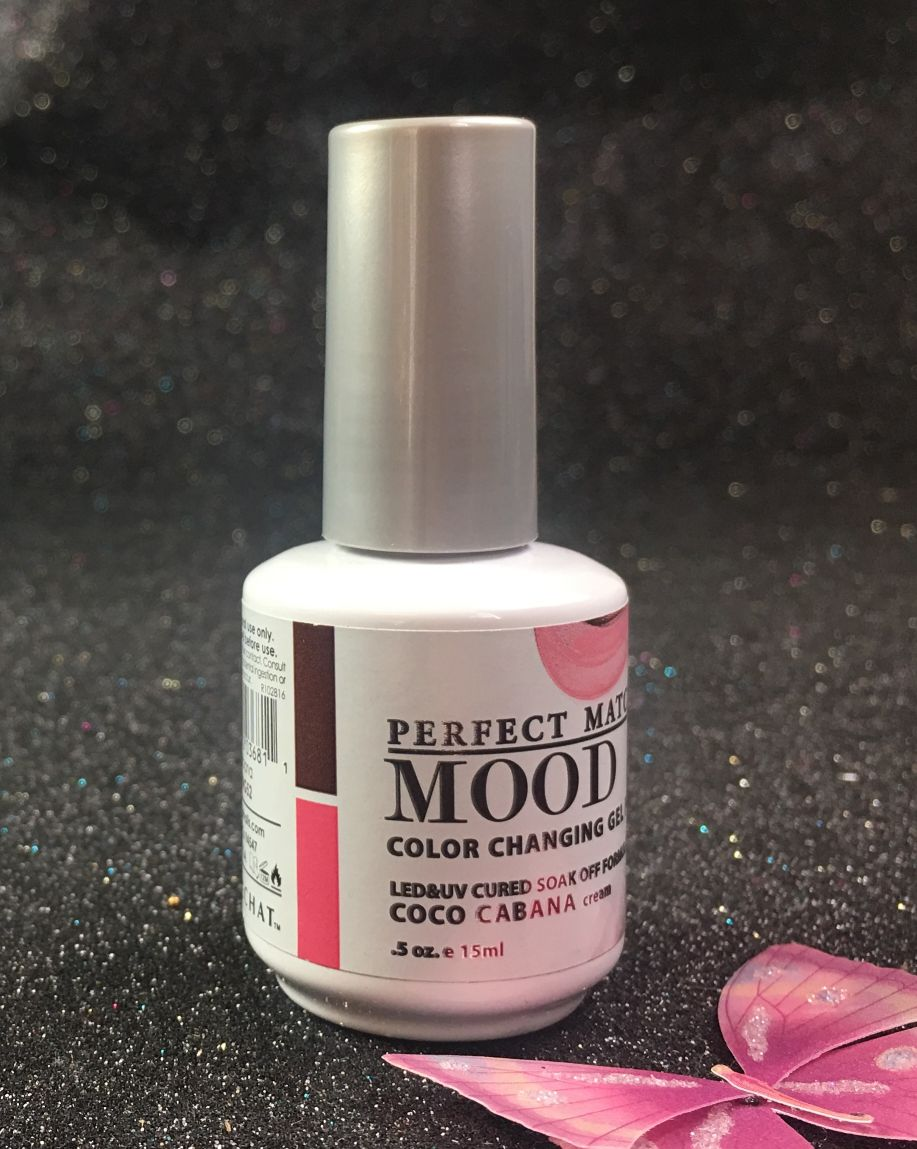 Lechat Coco Cabana Perfect Match Mood Color Changing Gel Polish Mpmg52 I Nails Com