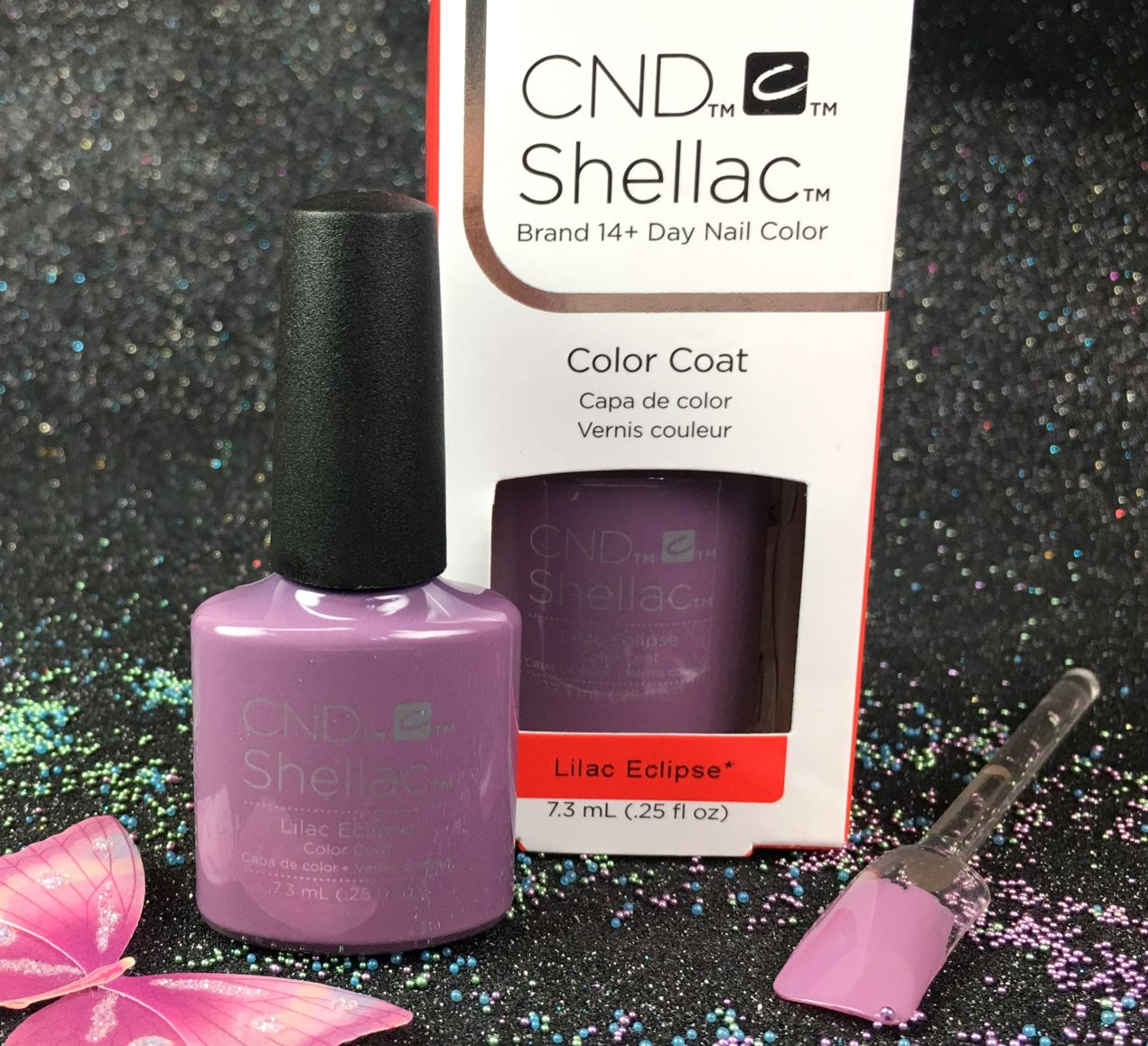 Eccezionale CND Shellac Lilac Eclipse Gel Color Nightspell Collection l Gel  PX94