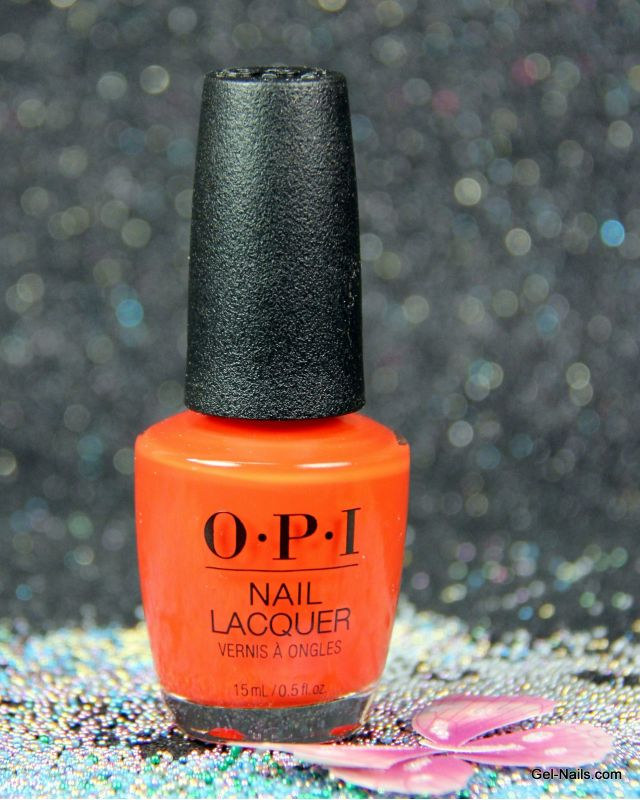 OPI A Red-Vival City NLL22 Nail Lacquer I Gel-nails.com