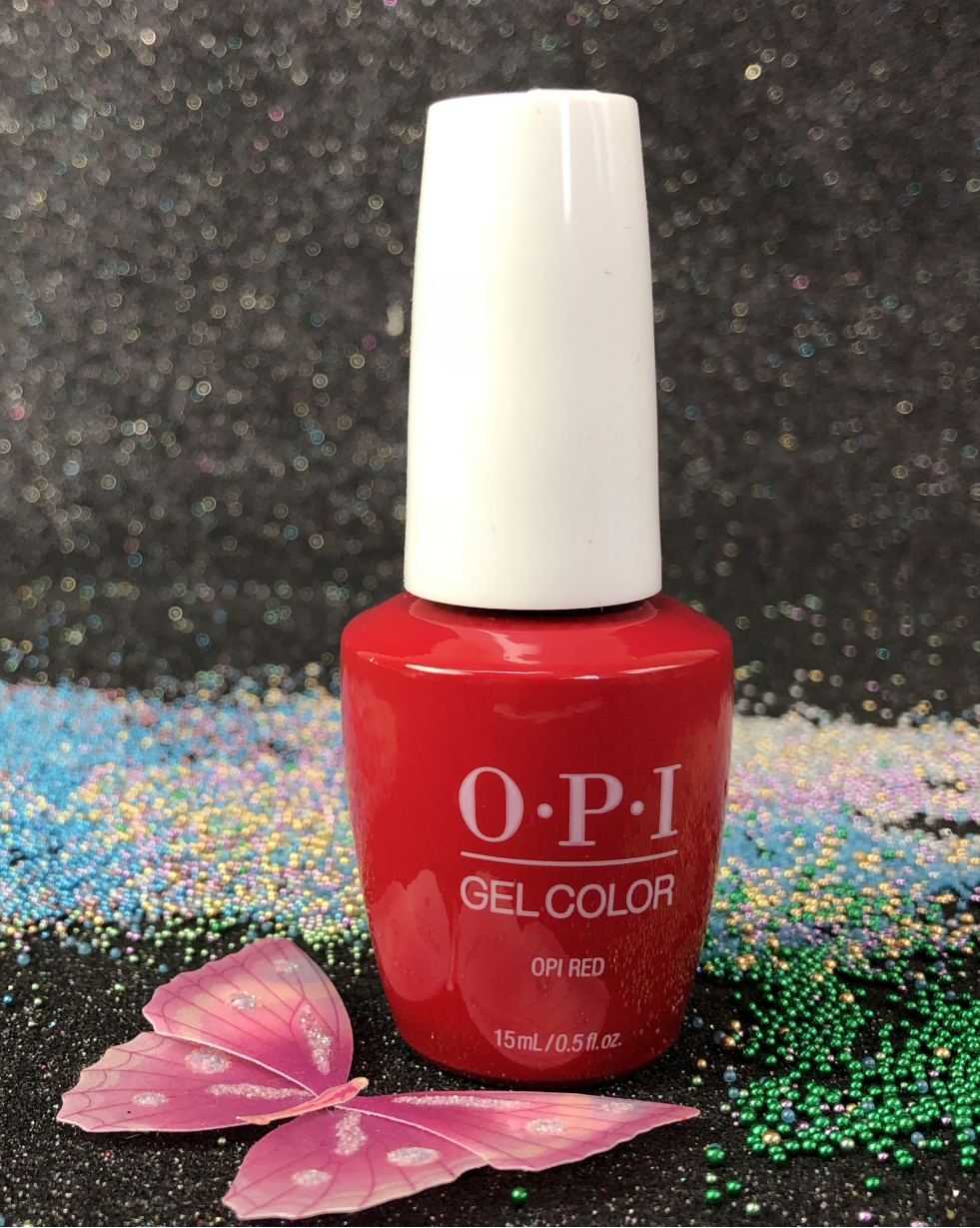 OPI OPI Red GCL72 Gel Color New Look I Gel-nails.com