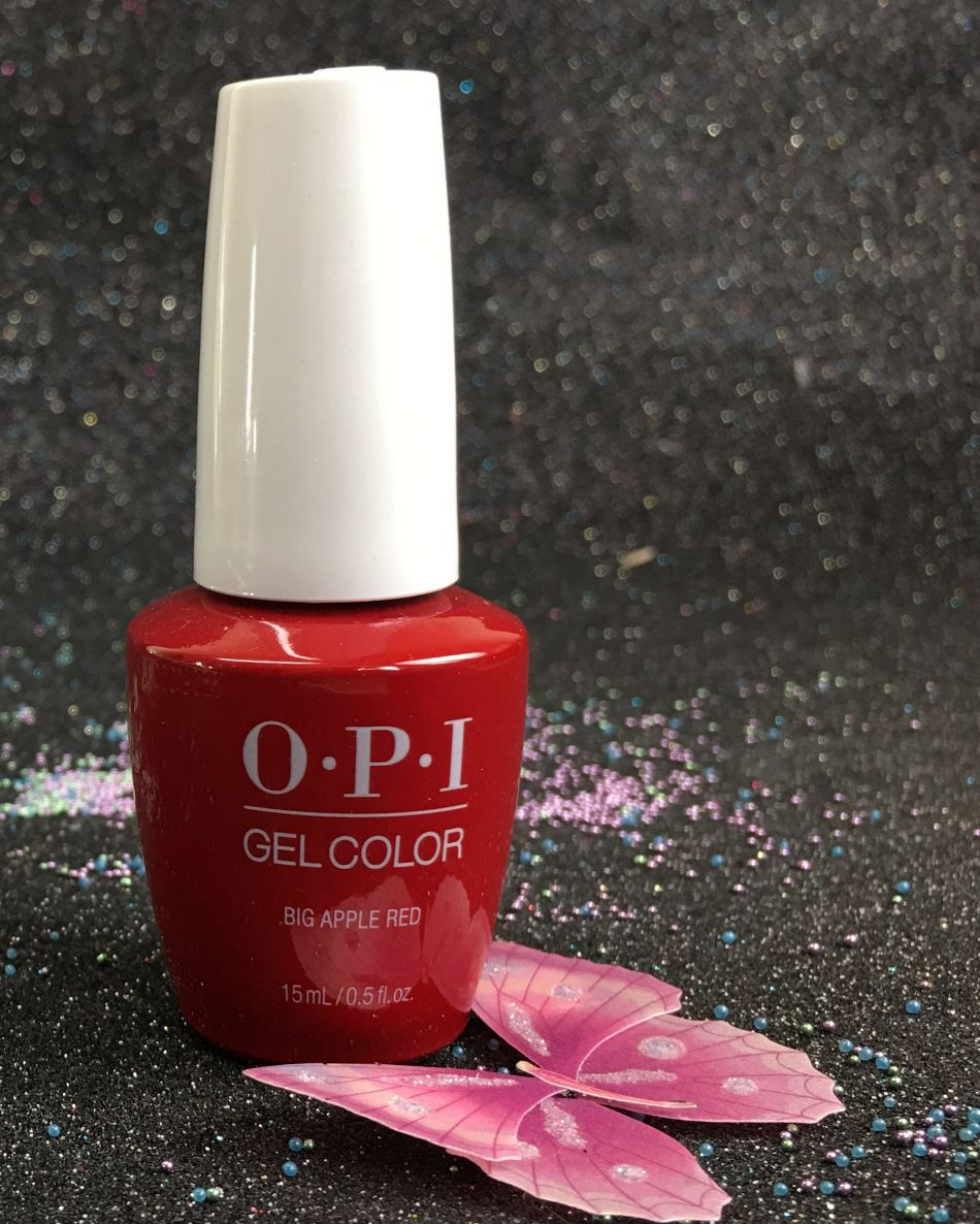 OPI Big Apple Red GCN25 GelColor NEW Look 15ml-0.5 fl.oz I gel-nails.com