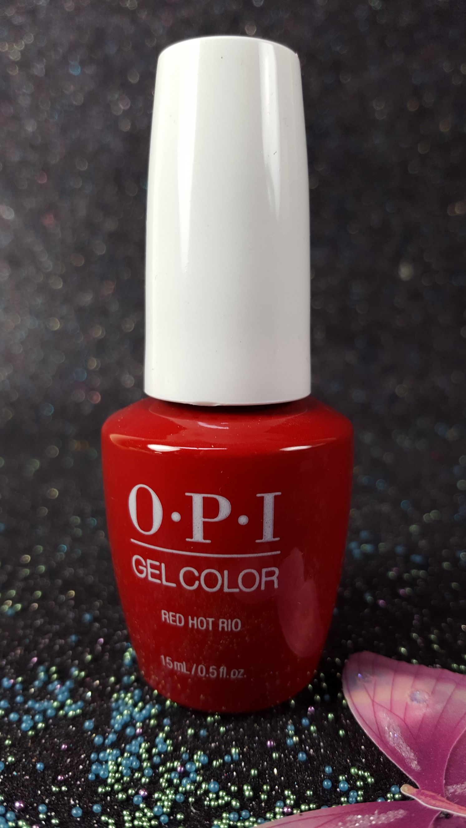 Soak-Off Gel Color by OPI Red Hot Rio NEW Look GCA70 | Gel-Nails.com