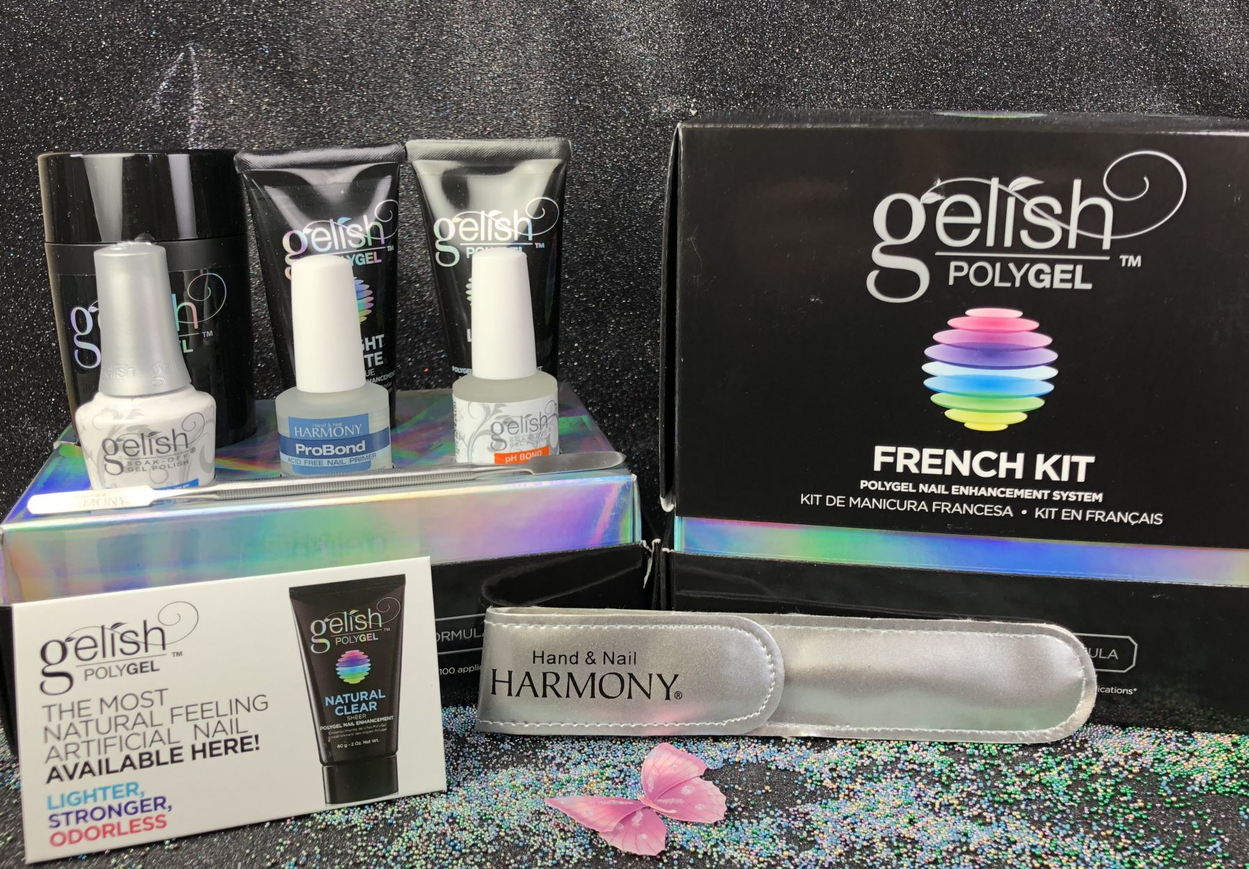 Gelish Polygel French Kit 1720002 I Gel Nails Com