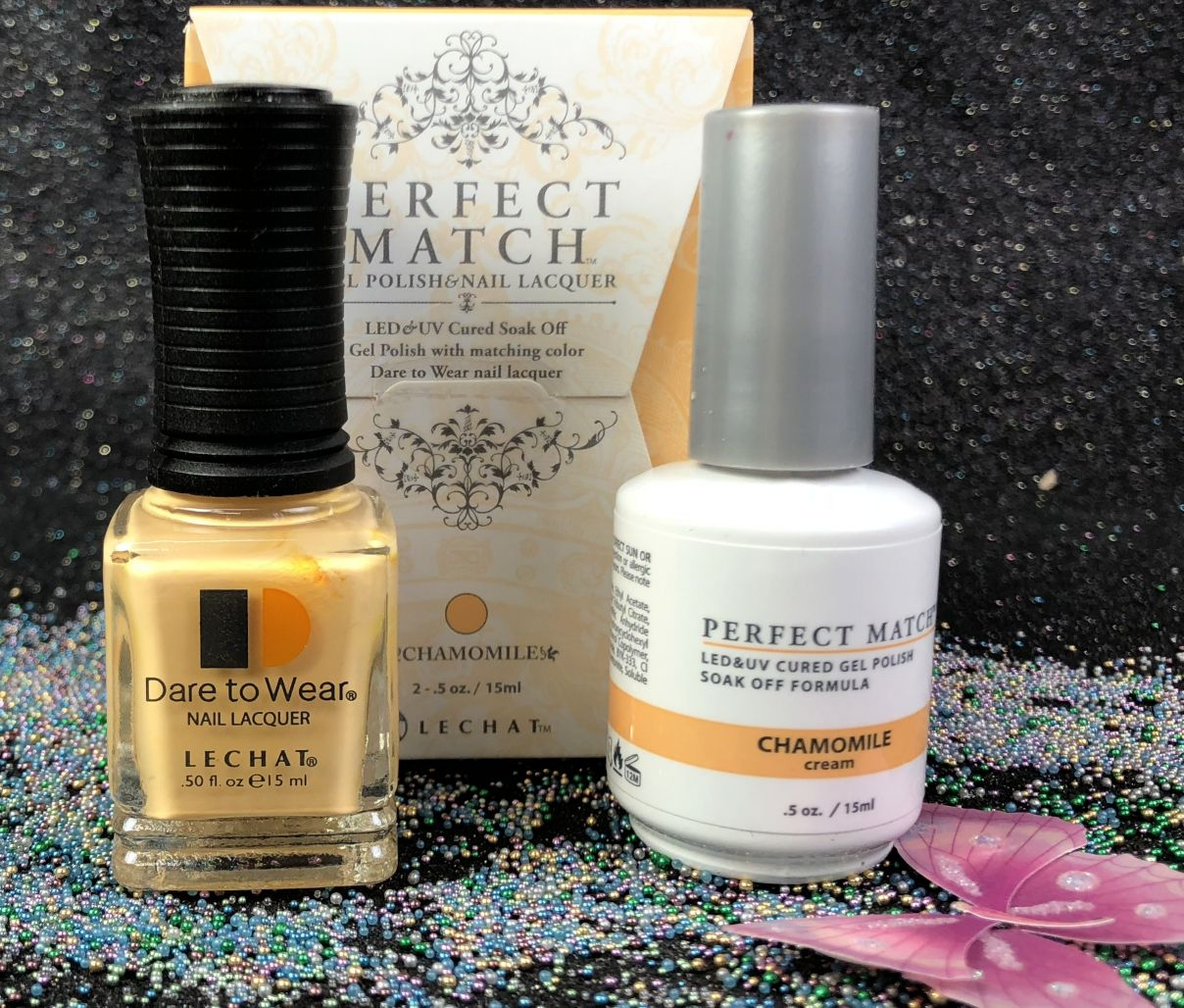 Lechat Chamomile Pms226 Perfect Match Gel Polish Amp Nail Lacquer I Gel Nails Com