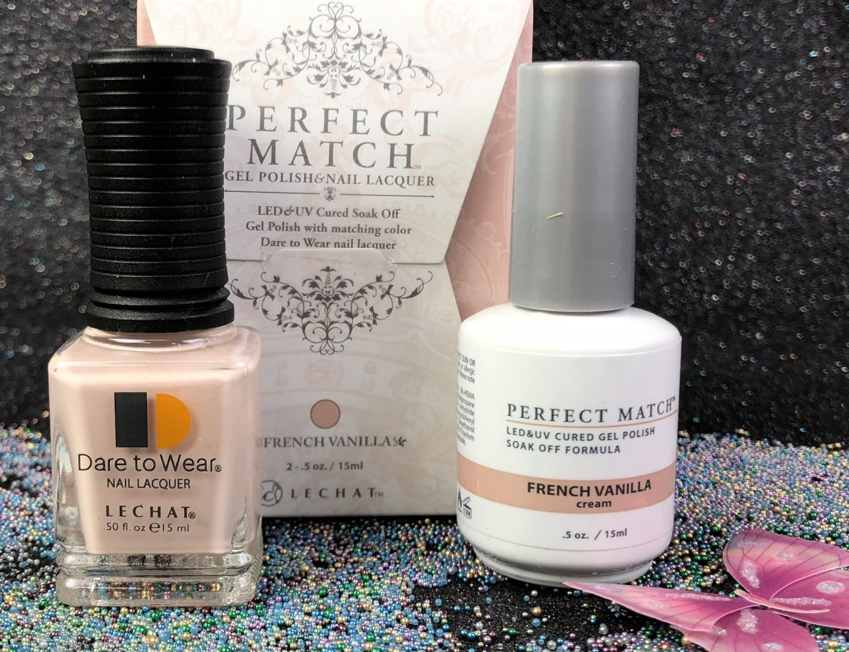 LeChat French Vanilla PMS223 PERFECT Match Gel Polish & Nail Lacquer ...