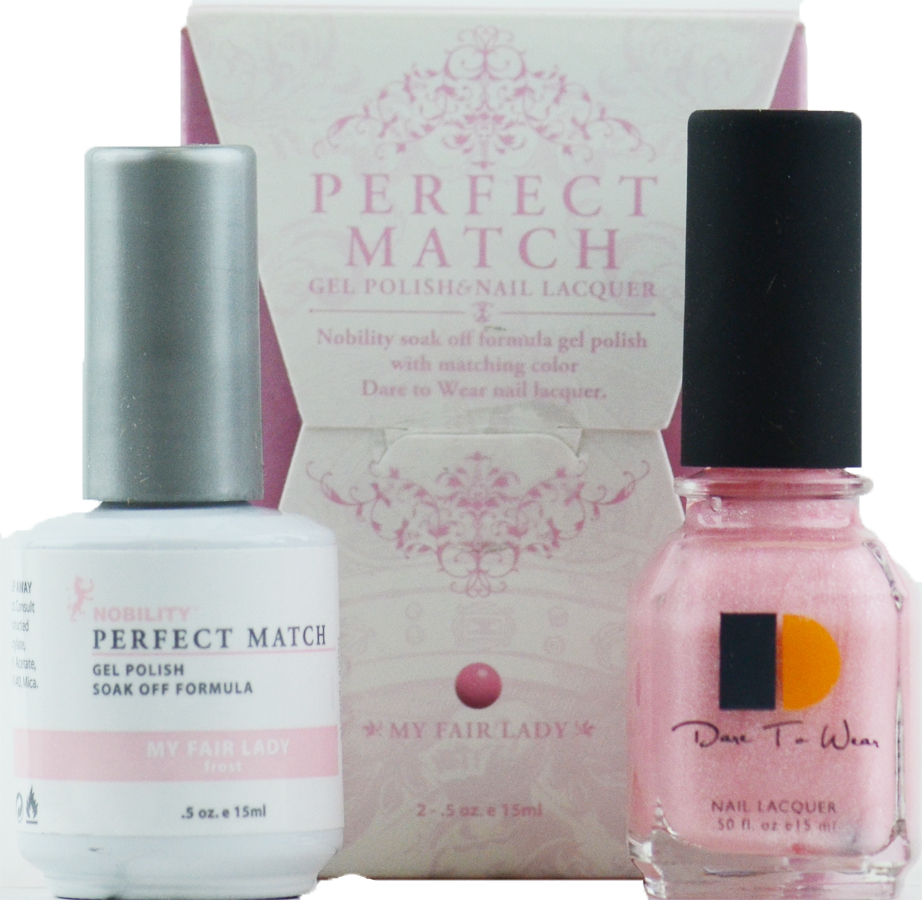 LeChat Perfect Match Gel Polish & Nail Lacquer My Fair Lady - PMS14