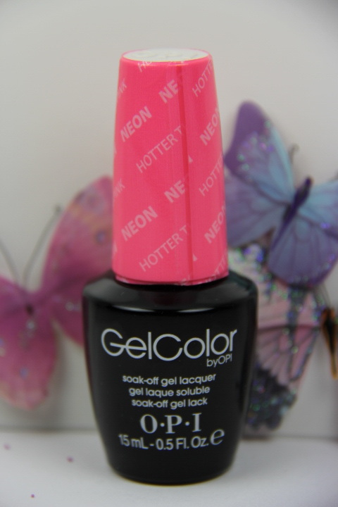 Soak Off Gel Color By OPI Hotter Than You Pink