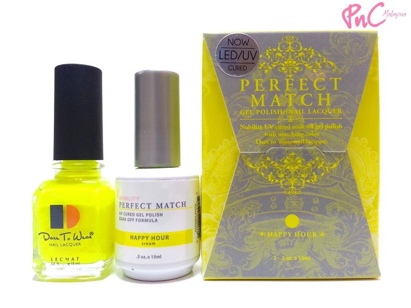 LeChat Perfect Match Gel Polish & Nail Lacquer Happy Hour