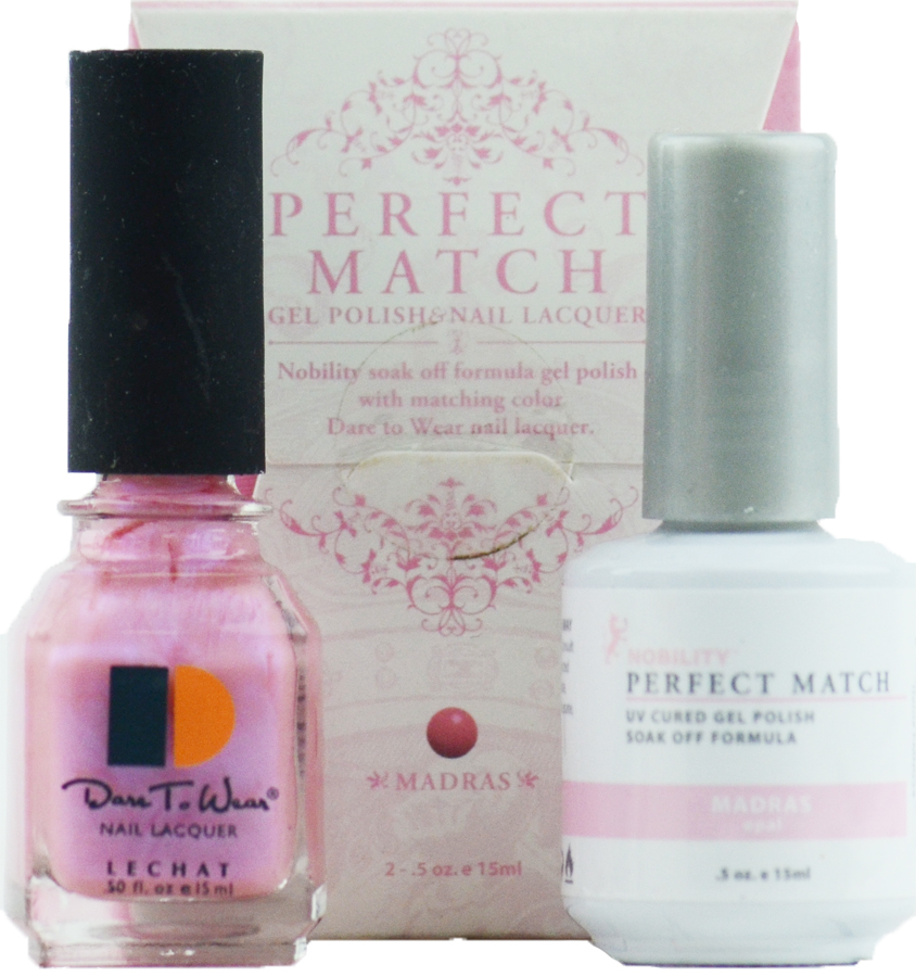 LeChat Perfect Match Gel Polish & Nail Lacquer Madras