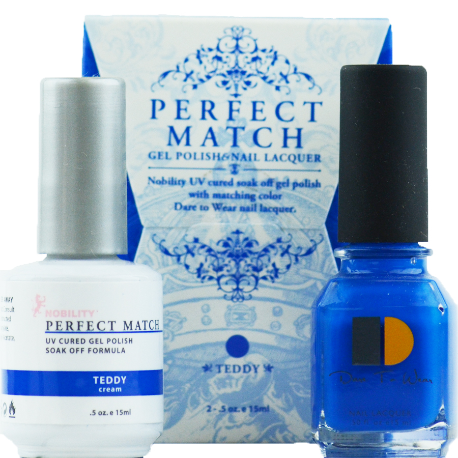 LeChat Perfect Match Gel Polish & Nail Lacquer Teddy