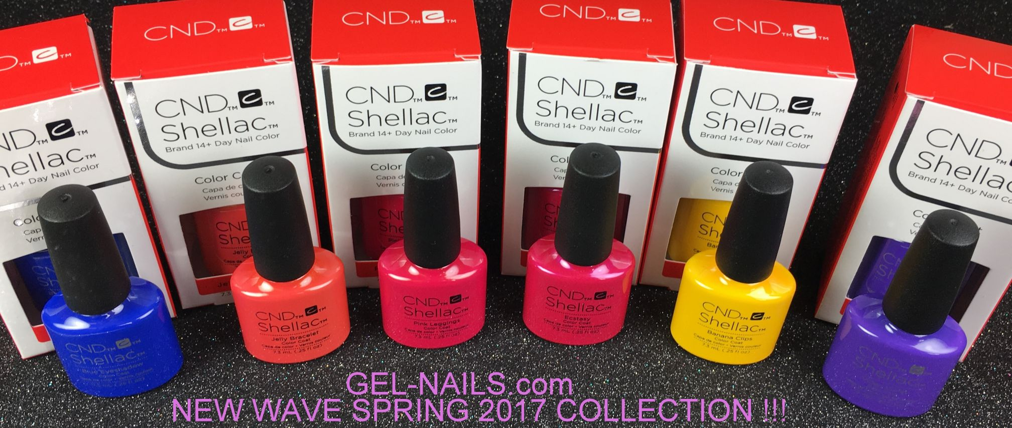 CND Shellac New Wave Spring 2017 Collection