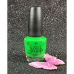 OPI Nail Lacquer Green Come True NL BC4 Tru Neon Collection Summer 2016