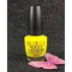 OPI Nail Lacquer No Faux Yellow NLBB8 Tru Neon Collection Summer 2016