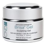 CND Brisa Sculpting Gel Pure White 42g/1.5oz