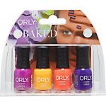Orly 4 Piece Baked Summer Nail Color Collection Mini Kit