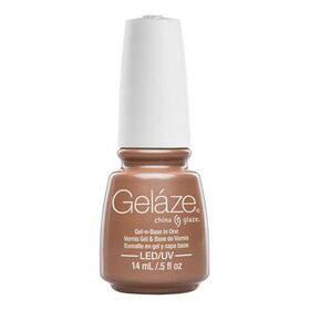Gelaze China Glaze Gel Nail Color Polish 0.5 oz  Camisole