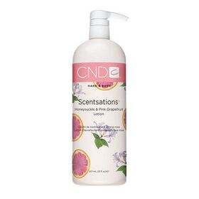 Honeysuckle And Pink Grapefruit  Hand & Body Lotion by CND Scentsations 917 mL 31 fl Oz