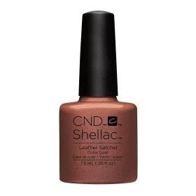CND Shellac Leather Satchel GEL Color Coat
