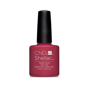 CND Shellac UV Color Coat - Gel Nail Polish - Tartan Punk