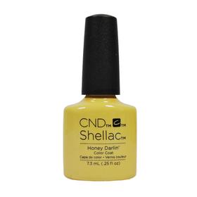 CND Shellac UV Color Coat - Gel Nail Polish  Honey Darlin 91175