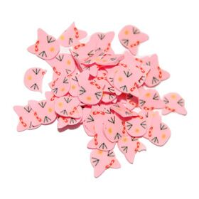 Sliced Fimo Art - Pink Cat (500pcs)