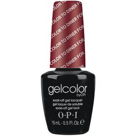 Soak-Off Gel Color by OPI  Color To Diner For 15ml-0.5fl.Oz