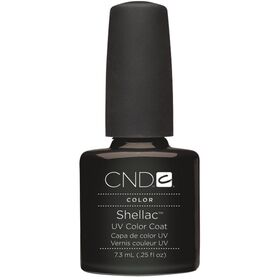 CND Shellac UV Color Coat - Gel Nail Polish - Black Pool
