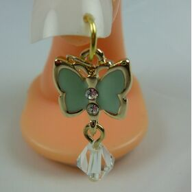 Nail Dangle - Butterfly Green