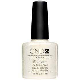 CND Shellac UV Color Coat - Gel Nail Polish - Gold VIP Status Color