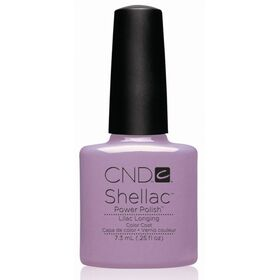 CND Shellac UV Color Coat - Gel Nail Polish - Lilac Longing