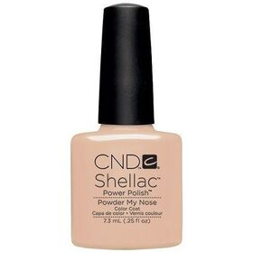 CND Shellac Powder My Nose UV Color Coat - Gel Nail Polish