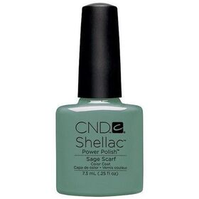 CND Shellac Sage Scarf UV Color Coat - Gel Nail Polish