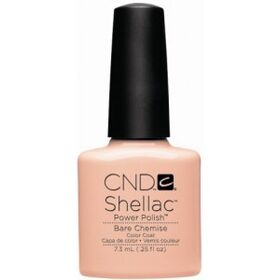CND Shellac UV Color Coat - Gel Nail Polish - Bare Chemise