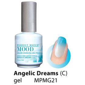 LeChat Angelic Dreams Cream Perfect Match Mood Color Changing Gel Polish  .5oZ/15mL