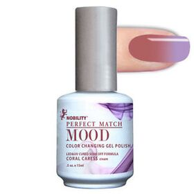 LeChat Colar Caress Cream Perfect Match Mood Color Changing Gel Polish  .5oZ/15mL