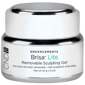 CND Brisa Lite Removable Sculpting Gel Pure White 14g 0.5 oz