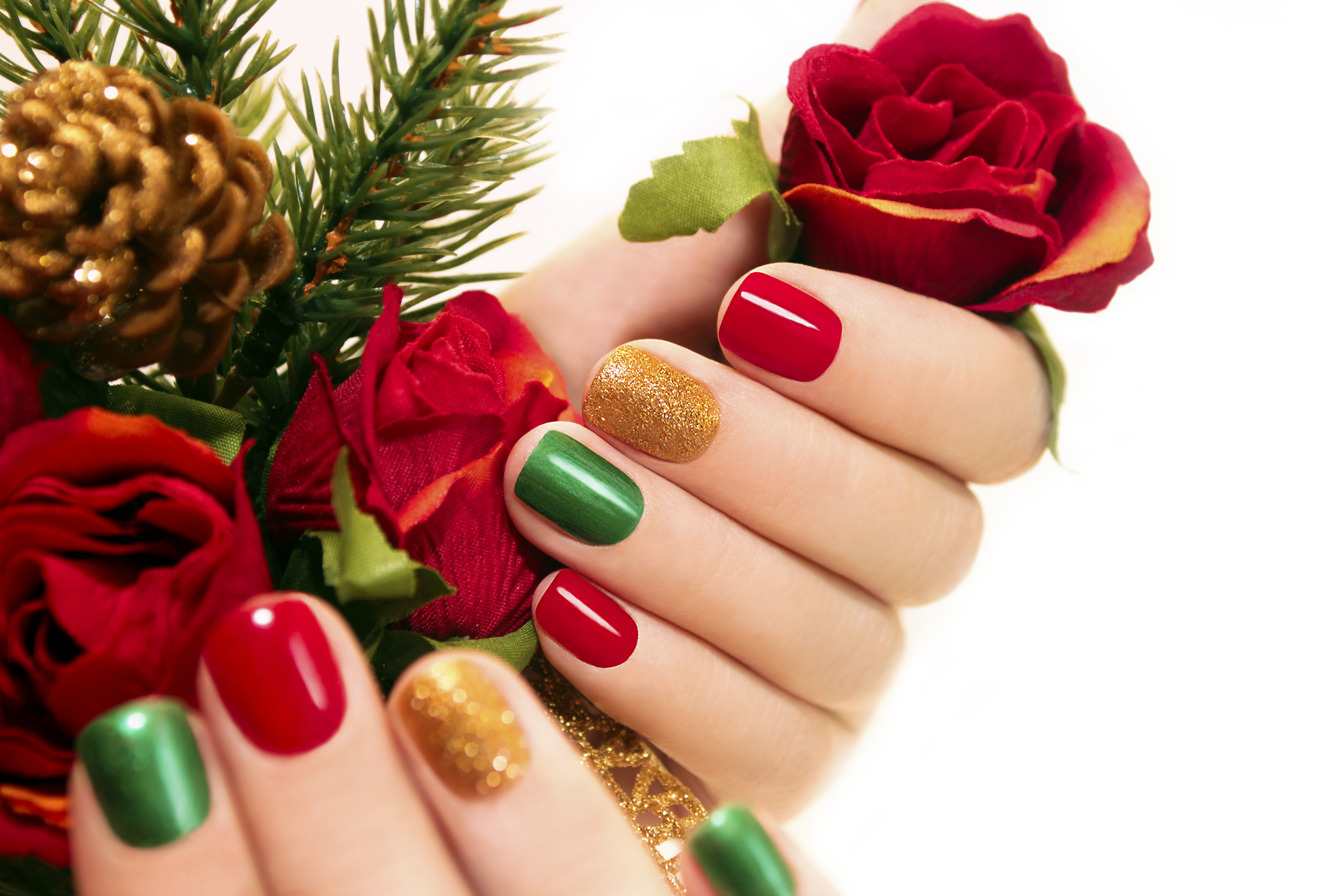 How to do Christmas Nails