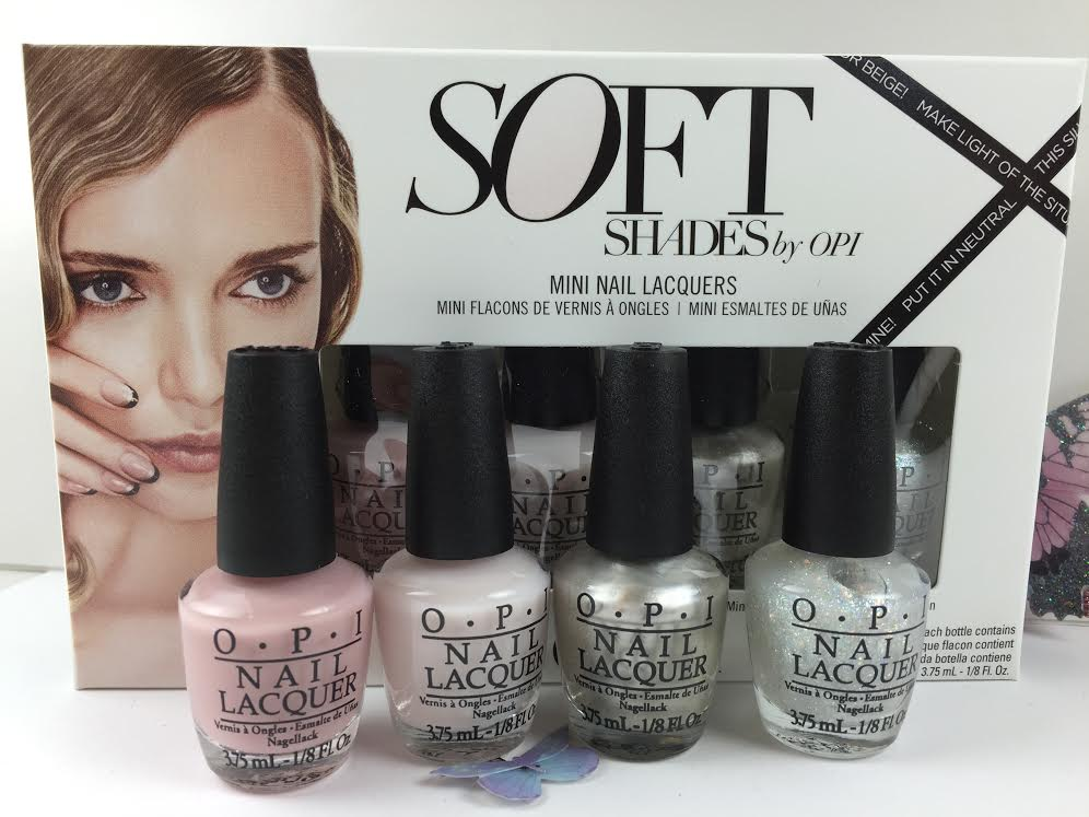 Opi Nail Lacquer Mini Collection Soft Shades