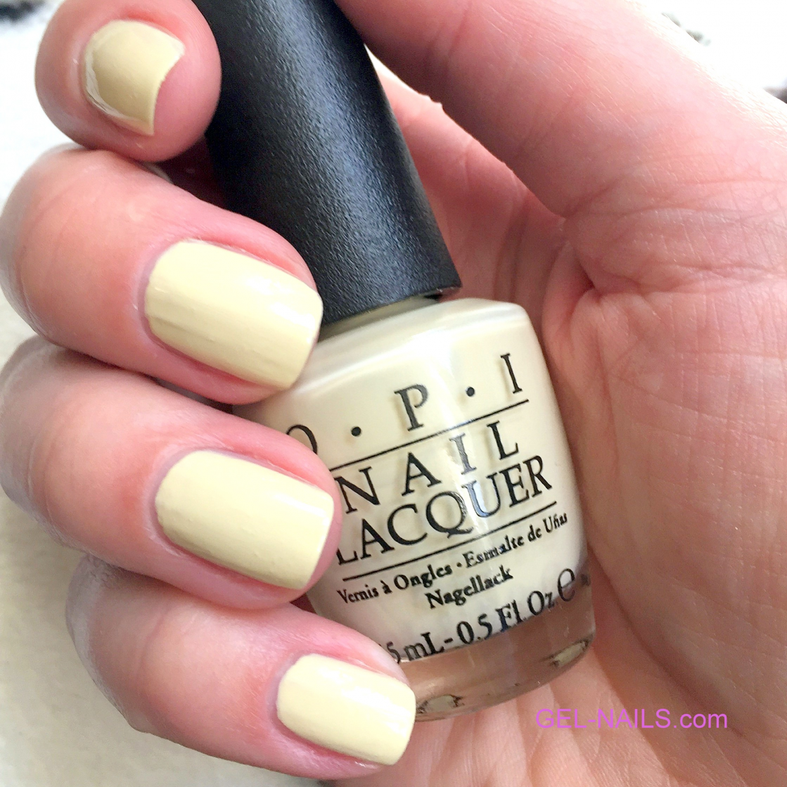 OPI Nail Lacquer One Chic Chick NLT73