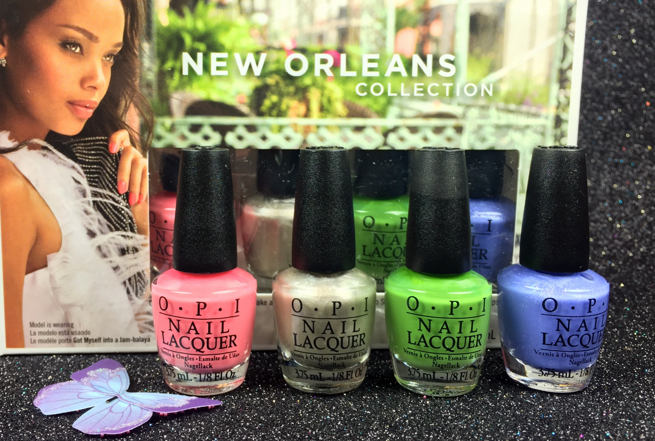opi mini nail lacquer limited edition 2016 new orleans collection kit jambalayettes. Black Bedroom Furniture Sets. Home Design Ideas