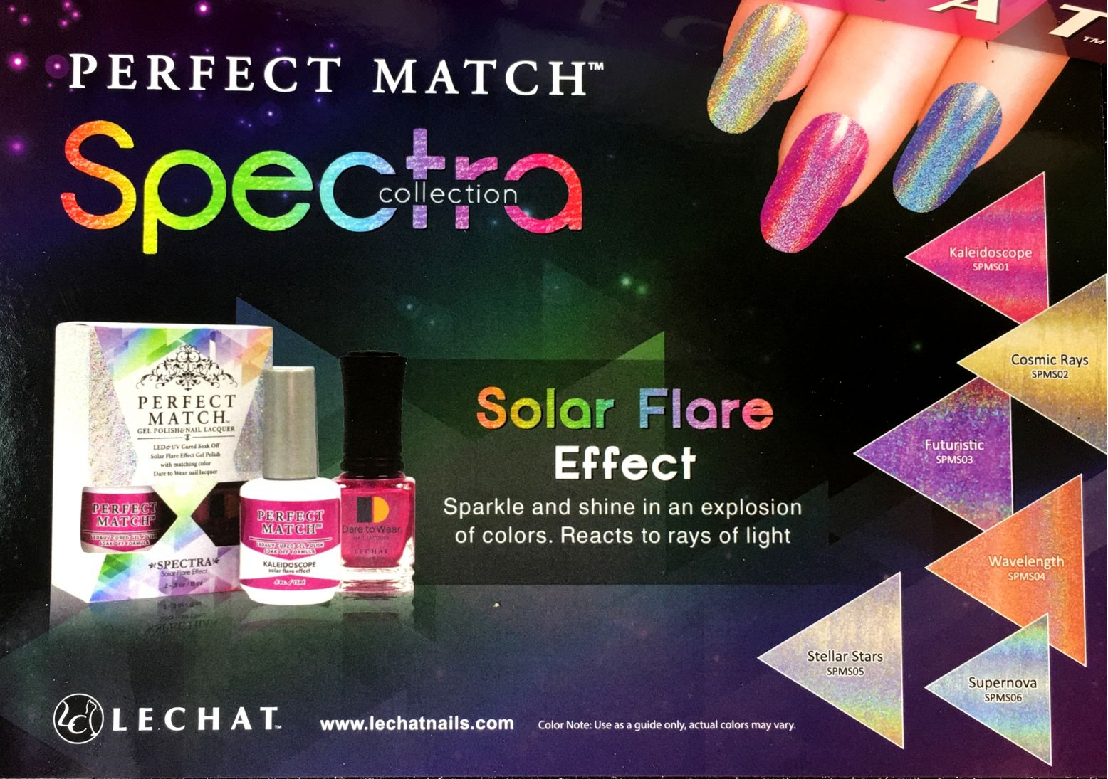 LeChat Futuristic Spectra Collection Perfect Match Gel Polish & Nail ...