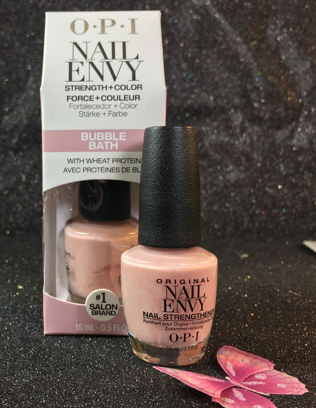 OPI Nail Envy Wheat Protein & Calcium Envy Bubble Buth I gel-nails.com