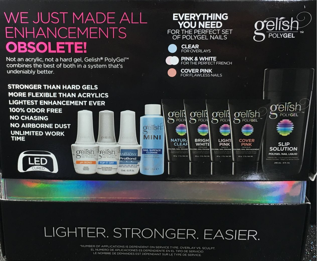 Gelish Polygel Master Kit I Gel Nails Com