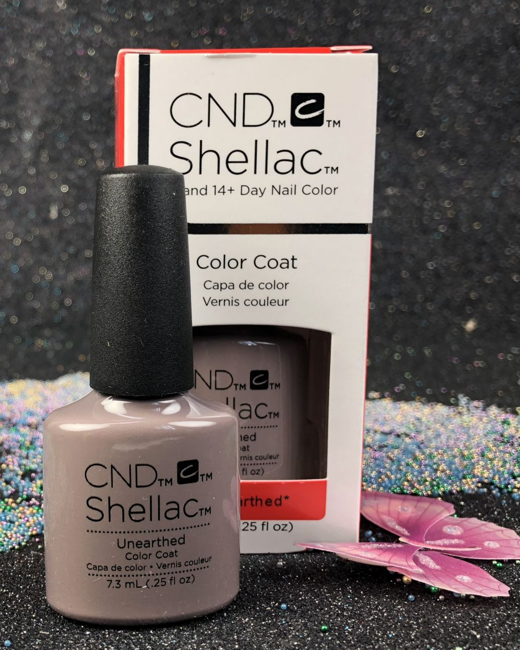 Cnd Shellac Unearthed 151 Color Coat Gel Nail Polish Nude 2018 Collection 7 3 Ml 0 25 Fl Oz