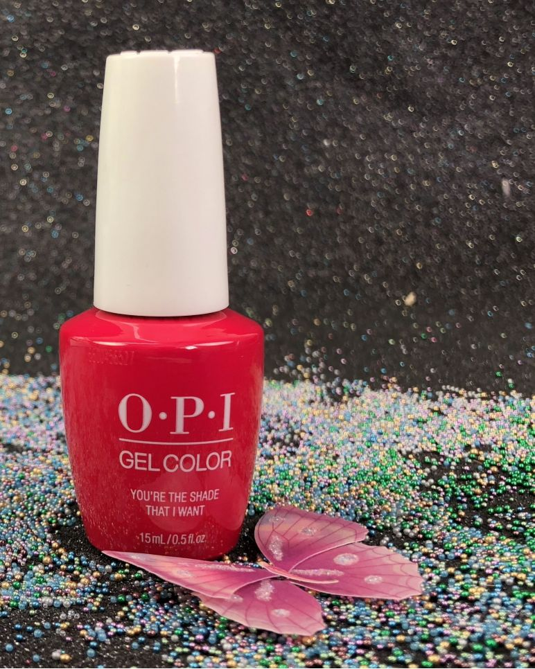 Opi Youre The Shade That I Want Gcg50b Gel Color Grease Summer 2018